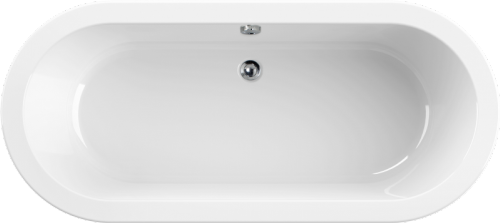 Aquaestil Rhein Double Ended Oval Bath 1800 x 800mm